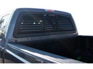 Mach-Speed 32002 Ford F250 - F350 - F450 - F550 - F650 ABS Rear Window Louver - 2008-2012
