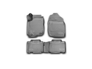 Novline 48.57.210 Toyota Rav4 Floor Mats - Floor Liners - 2013-2014 - Four (4) Piece Set - Black