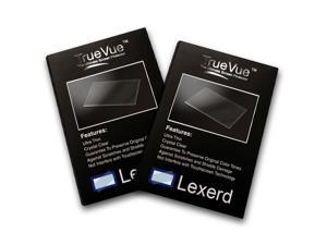 Lexerd - Canon PowerShot N TrueVue Crystal Clear Digital Camera Screen Protector (Dual pack Bundle)