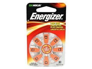 Energizer-Eveready 10282 - AZ13DP 1.4 volt Zinc Air Zero Mercury Hearing Aid Battery 8 Pack (AZ13DP-8)