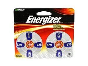 Energizer-Eveready 10285 - AZ675DP 1.4 volt Zinc Air Zero Mercury Hearing Aid Battery 8 Pack (AZ675DP-8)