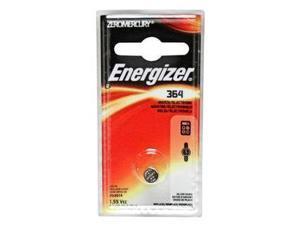 Energizer-Eveready 11077 - 364 1.55 Volt Zero Mercury Button Cell Watch / Calculator Battery (364BPZ)