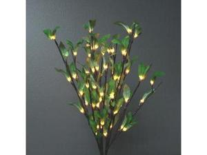 "Light Garden 01899 - 20"" Leaf Willow Electric Lighted Branch (60 Clear Lights)"