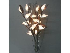 "Light Garden 01600 - 38"" Bird Of Paradise Electric Lighted Branch (20 Clear Lights)"