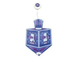 """Rite Lite 17683 - 16"""" x 8.5"""" Battery Operated Chanukah LED Draydel Window Decoration (B-HL-9)"""