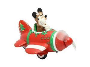 Precious Moments 02098 - Mickey Mouse In Plane with Message LED (131706)