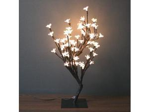 """Creative Motion 12874 - 17.71""""H LED WHITE CHERRY BLOSSOM TREE Electric Lighted Blossoms and Flowers"""