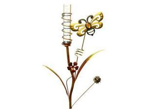 "Regal Art & Gift 10370 - 35"" x 10"" Bee Stake (Color Changing) Solar LED Light"