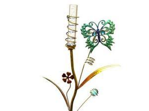 "Regal Art & Gift 10371 - 35"" x 10"" Butterfly Stake (Color Changing) Solar LED Light"