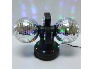 Twin - Mirror | Creative Motion Disco Ball Lamp with Built-in LED Lights (11420)