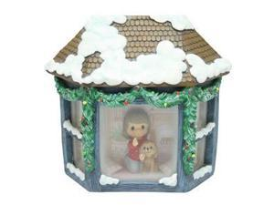 Precious Moments 01148 - Deluxe Musical: Girl In Window Musical LED (141102 GIRL IN WINDOW LED MUSICAL)