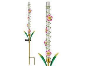 "Regal Art & Gift 10874 - 31.25"" x 7"" Pink (Color Changing) Solar LED Light Stake"
