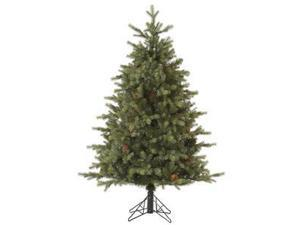 "Vickerman 32798 - 14' x 121"" Rocky Mountain Fir with Pine Cones Christmas Tree (A145795)"