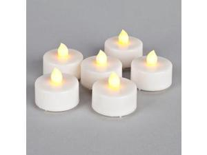 """Gerson 23097 - 1.5"""" x 1.25"""" Battery Operated Tealight LED (6 pack)"""