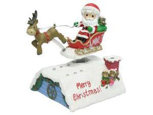 Precious Moments 02853 - Santa In Sleigh Deluxe Musical LED (151102)