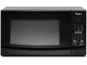 0.7 cu. ft. Countertop Microwave Oven with 700 Watts Cooking Power, 10 Power Levels, Electronic Child Lockout Feature and Removable Glass Turntable: Black