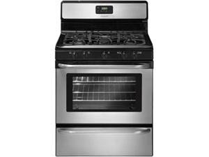 "30"" standing Gas Range with 5 Sealed Burners, Quick Boil Burner, Extra Zone Center Burner, 4.2 cu. ft. Oven Capacity, Manual Clean Oven, Ready-Select Controls and Broiler Drawer"
