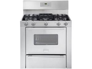 "36"" Pro Style Gas Range with 5 Sealed Burners, Heavy-Duty Continuous Cast Iron Grates, 3.7 cu. ft. Oven Capacity, Even Baking Technology, Pro-Select Controls and Storage Drawer"
