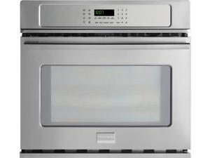 "27"" Single Electric Wall Oven with 3.8 cu. ft. True Convection Oven, Steam Cleaning, PowerPlus Preheat, Delay Start, Auto Shut-Off and Temperature Probe"