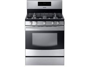 "30"" standing Gas Range with 5 Sealed Burners, Removable Griddle, 5.8 cu. ft. Oven Capacity, 17,000 BTU Power Burner, Self Clean with Steam and Storage Drawer"
