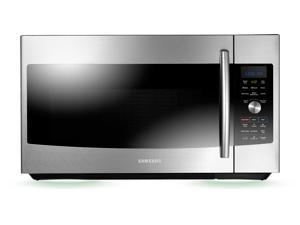 1.7 cu. ft. Over-the-Range Microwave Oven with 1,750 Watts, Convection System, SLIM FRY technology, Ceramic Enamel Interior and 3-Speed 300 CFM Venting System