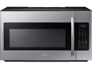 1.8 cu. ft. Over-the-Range Microwave Oven with 400 CFM Ventilation, 1,000 Cooking Watts, 2-Stage Programmable Cooking, Sensor Cooking and Chrome Rack: Stainless Steel