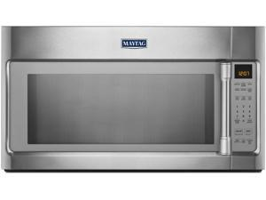 2.0 cu. ft. Over-the-Range Microwave Oven with 1000 Watts, 400 CFM Venting System, Stainless Steel Cavity, Speed Cook, Interior Cooking Rack and Incandescent Lighting: Stainless Steel