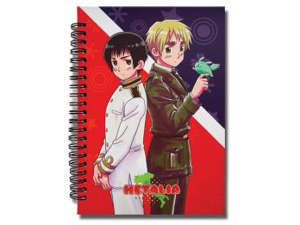 Japan and England Hetalia Notebook GE Animation