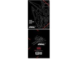 File Folder: Gundam Wing - Wing Zero Elastic Band Document Folder GE Animation