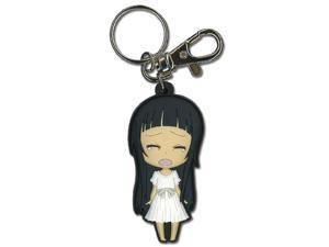 Key Chain: Sword Art Online - Chibi Yui Crying anime character PVC zipper pull GE Animation