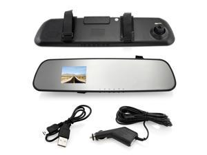 Car Mirror HD 1080P LCD Dash Cam Video Recorder Camera Rearview Vehicle DVR