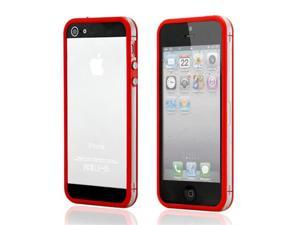 Red TPU Frame Bumper Skin Case Cover for iPhone 5 5S