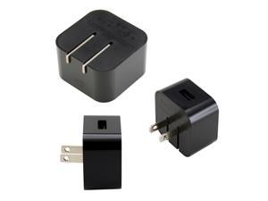 Black Universal AC USB Power Home Travel Wall Charger Adapter for Amazon Kindle Fire HD Tablets