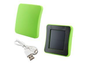 Solar Powered External Charger Battery for Apple® iPhone® 3, 4, 5C, 5S, Samsung Galaxy S3, S4 - Green