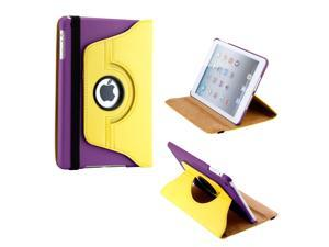 Gearonic ™ Los Angeles 360 Degree Rotating PU Leather Case Smart Cover With Swivel Stand for Apple iPad Mini 2 w/ Retina ... - OEM
