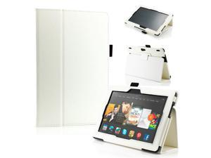 "GEARONIC ™ PU Leather Folio Cover Flip Smart Case Stand for Amazon Kindle Fire HDX 8.9"" 8.9-inch 2013 - White"