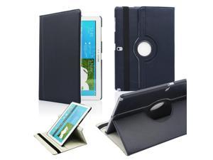 GEARONIC TM PU Leather Rotate Case Stand Flip Cover Skin For Samsung Galaxy Note Pro 12.2 inch Tablet - Dark Blue