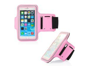 GEARONIC TM Premium Full Running Jogging Sports Gym Armband Case Cover Holder for Apple iPhone 6 - Pink