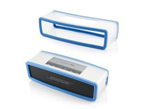 GEARONIC TM Protective TPU Soft Case Cover Pouch Box for Bose SoundLink Min Bluetooth Wireless Speaker  - Blue