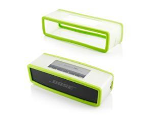 GEARONIC TM Protective TPU Soft Case Cover Pouch Box for Bose SoundLink Min Bluetooth Wireless Speaker  - Green