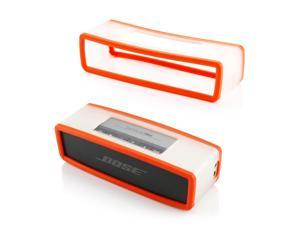 GEARONIC TM Protective TPU Soft Case Cover Pouch Box for Bose SoundLink Min Bluetooth Wireless Speaker  - Orange