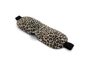 GEARONIC TM 3D Soft Eye Sleep Mask Padded Shade Cover Travel Relax Sleeping Blindfold - Leopard