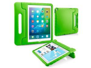 GEARONIC TM Shockproof Kids Child Eva Safe Thick Foam Handle Protective Case Cover Stand for Apple iPad Pro 12.9 inch - Green