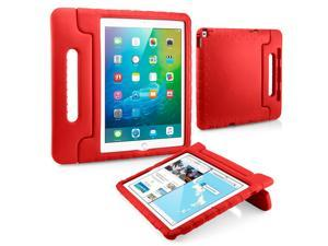 GEARONIC TM Shockproof Kids Child Eva Safe Thick Foam Handle Protective Case Cover Stand for Apple iPad Pro 12.9 inch - Red