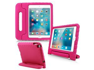 GEARONIC TM Shockproof Kids Eva Safe Thick Foam Handle Protective Case Cover Stand for Apple iPad mini 4 - Hot Pink