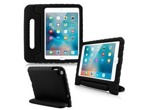 GEARONIC TM Shockproof Kids Eva Safe Thick Foam Handle Protective Case Cover Stand for Apple iPad mini 4 - Black
