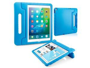 GEARONIC TM Shockproof Kids Child Eva Safe Thick Foam Handle Protective Case Cover Stand for Apple iPad Pro 12.9 inch - Blue