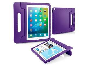GEARONIC TM Shockproof Kids Child Eva Safe Thick Foam Handle Protective Case Cover Stand for Apple iPad Pro 12.9 inch - Purple