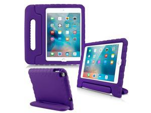 GEARONIC TM Shockproof Kids Eva Safe Thick Foam Handle Protective Case Cover Stand for Apple iPad mini 4 - Purple