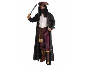 Mens Peg Leg Pirate Costume